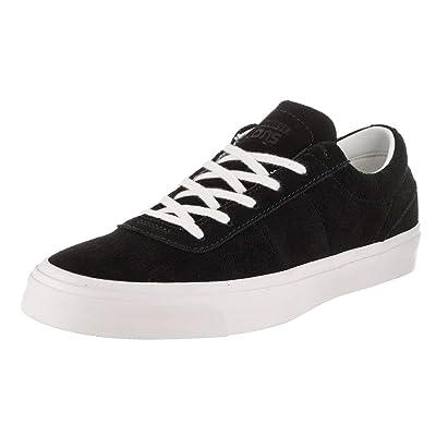 Converse Unisex One Star CC OX (Black/White/White, Mens 6.5 / Womens 8.5)   Fashion Sneakers