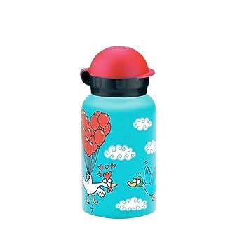 Botella térmica Hit de Laken en acero inoxidable con aislamiento al vacío y boca estrecha 350 ml Kukuxumusu Glovolando