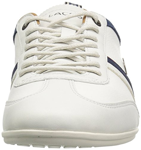 Lacoste Men's Misano Sneakers Off White/Nvy Leather XyzPCVd
