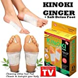 DivineXt Kinoki Cleansing Detox Adhesive Foot Patches (Pack of 10)