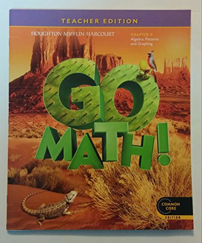 Go Math! Grade 5 Teacher Edition Chapter 9: Algebra - Patterns and Graphing (Common Core Edition)