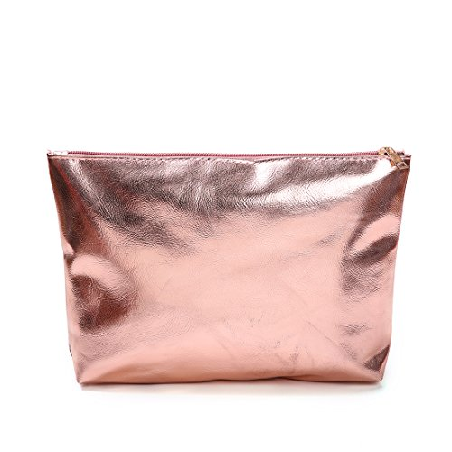clear Stripe Beach Rose Waterprof Tote FANCY Versatile Semi Gold Bag Shoulder LOVE 0vxqSYI