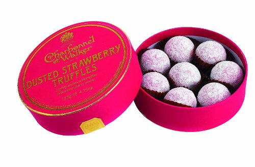Charbonnel et Walker Strawberry Truffles, 4.75 Ounce