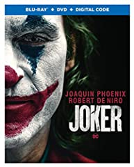 "Joker (Blu-ray + DVD + Digital)""Joker"" centers around the iconic arch-nemesis and is an original, standalone story not seen before on the big screen. The exploration of Arthur Fleck (Joaquin Phoenix), a man disregarded by society, is not only..."