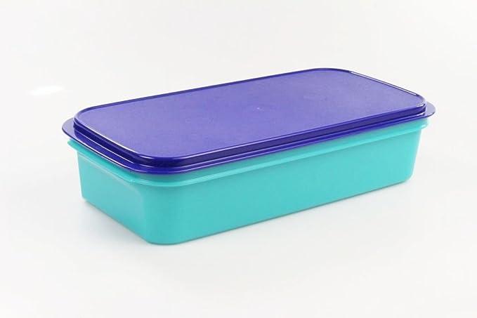 TUPPERWARE Envase 3,0 L azul turquesa para el refrigerador caja ...