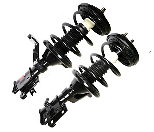 - DTA 50148 Front Complete Strut Assemblies With Springs and Mounts Ready to Install OE Replacement -2-pc Pair Fits Honda Element