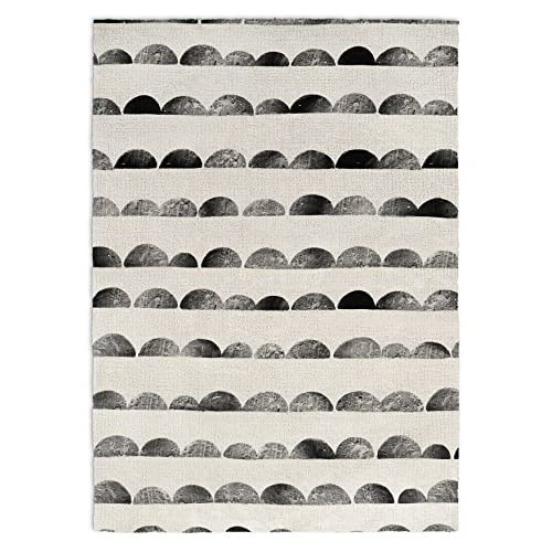 Nice KAVKA DESIGNS Bear Area Rug, (Black/White), Size: 3x5x.5 - (JLJAVC042RUG35) for sale