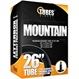 """26"""" Premium Branded Mountain/MTB/Cycle/Bike Inner Tube 26"""" x 1.75 to 2.125 (Fits any 1.75, 1.85, 1.90, 1.95, 2.0, 2.10) Schrader/Car Type Valve - FREE P&P!!"""