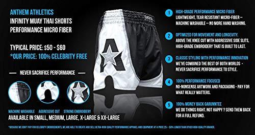 Anthem Athletics Infinity Muay Thai Shorts - Kickboxing, Thai Boxing, Striking