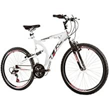 """""""Bicicleta Aro 26 XK-400 21 Marchas, Full Suspension, Quadro Em Aluminio, Aro AERO, Branco - Track & Bikes"""""""