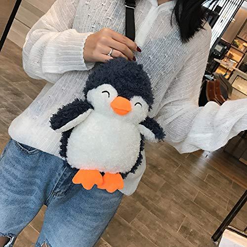 Para Niña Small Diseño Bandolera Japonés Pingüino De Bolso Saoga Pingüino OUwqnE7O