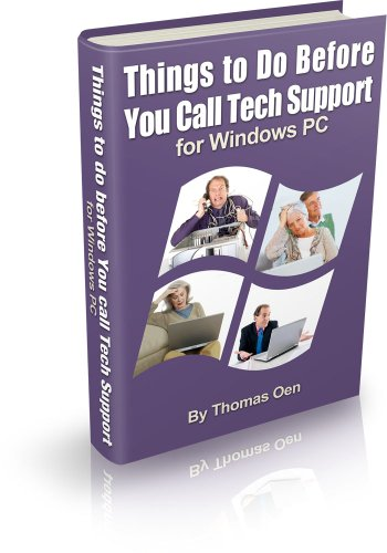 Things to Do Before You Call Tech Support for Windows PC