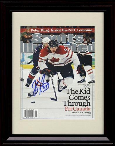 Framed Sidney Crosby Team Canada Autograph Replica Print - Olympic (Crosby Framed)