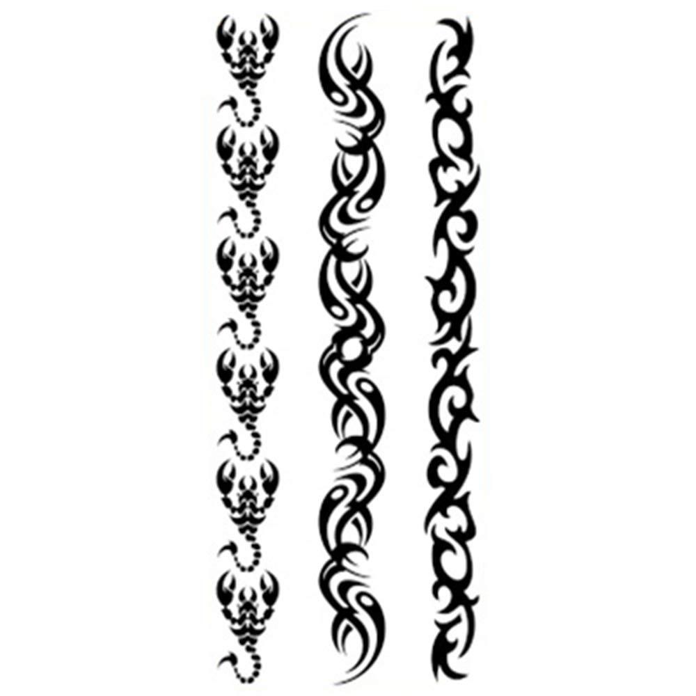 zgmtj Etiqueta engomada del Tatuaje del tótem del Bosquejo Animal ...