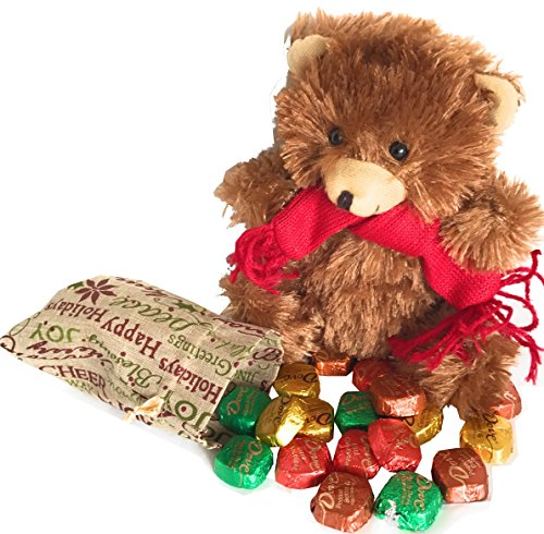 from-santas-helper-with-love-plush-stuffed-christmas-pal-with-candy-dove-hersheys-nestles-mars-more-