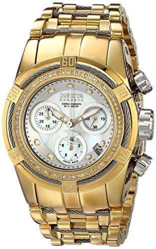 Invicta Women's 15450 Bolt Analog Display Swiss Quartz Gold Watch