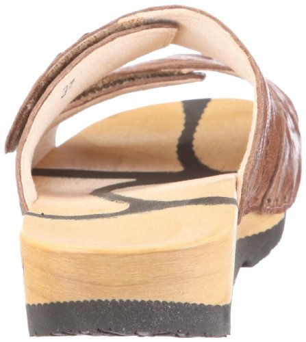 Chung Shi Wooccoli Barbara ice 3000100 - Sandalias de cuero para mujer Marrón (Braun/Sabbia)