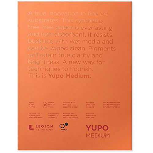 Yupo Polypropylene Roll 60Inch X 10Yds by Legion Paper by Yupo