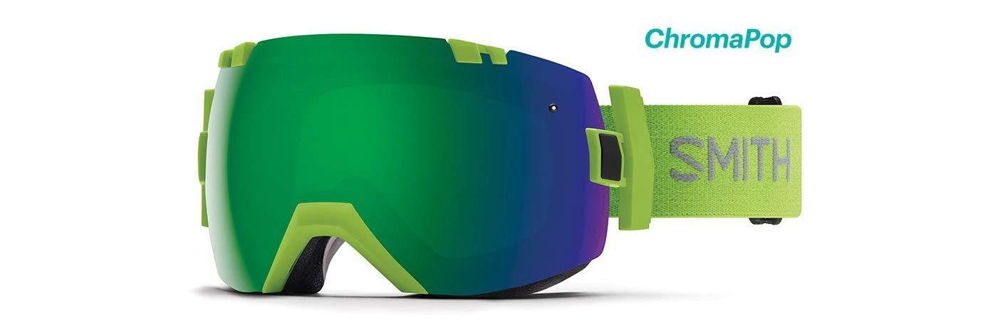 Smith Optics I/Ox Adult Snow Goggles - Flash/Chromapop Sun Green Mirror