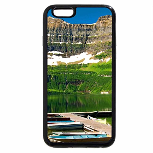 iPhone 6S / iPhone 6 Case (Black) Cameron lake - Waterton park