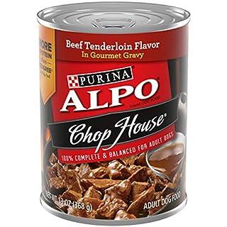Purina ALPO Gravy Wet Dog Food, Chop House Beef Tenderloin Flavor - (12) 13 oz. Cans