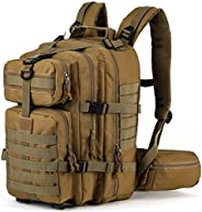 SHARKMOUTH Military Tactical Backpack 3 Day Assault MOLLE Pack Outdoor Daypack