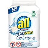All Free&Clear Mighty pacs 104 ct (pack of 6)