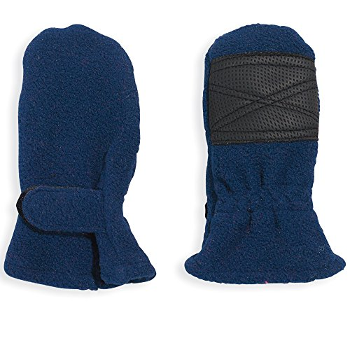 Navy Blue Baby Boy Thumbless Fleece Mittens by Cozy Cub, Size 0-12 Months