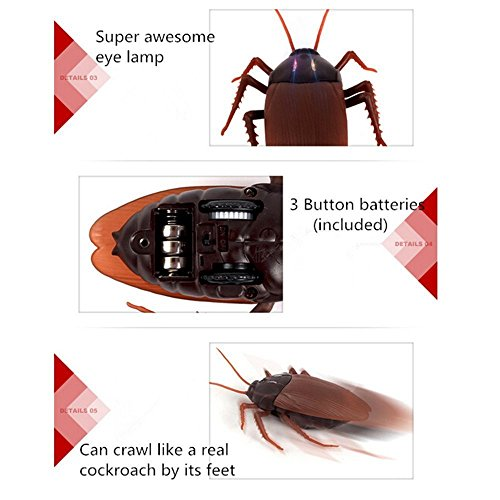 Buy fake bug with remote