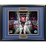 Walking on the Ice - Connor McDavid Framed Collector Photo - 16x20
