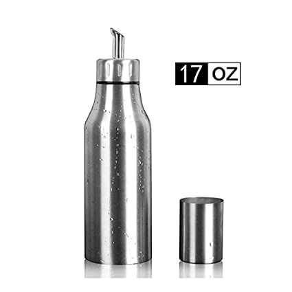 Amazoncom Per Home Stainless Steel Olive Oil Dispenser Leakproof