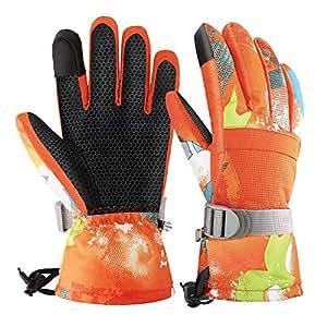 Amazon.com : Rhino Valley Ski Gloves, Winter Windproof