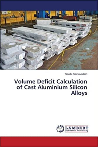 Book Volume Deficit Calculation of Cast Aluminium Silicon Alloys