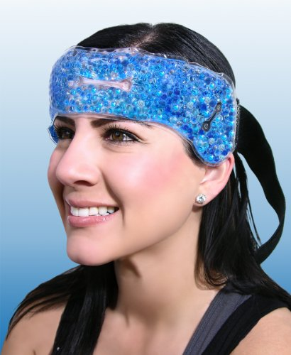 MIGRAINE HOT / COLD / SINUS / céphalée de tension HEAD WRAP