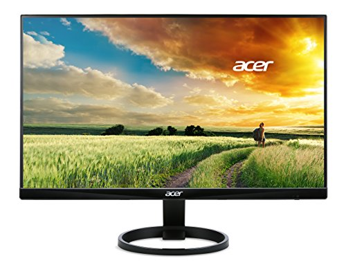Acer R240HY bidx 23.8-Inch IPS HDMI DVI VGA (1920 x 1080) Widescreen Monitor (Best Cheap Ips Monitor)