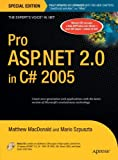 Pro ASP. NET 2. 0 in C# 2005, Mario Szpuszta and Matthew MacDonald, 1590597680