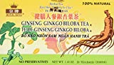 Royal King Ginseng Ginkgo Biloba Tea 20 Tea Bags/box For Sale