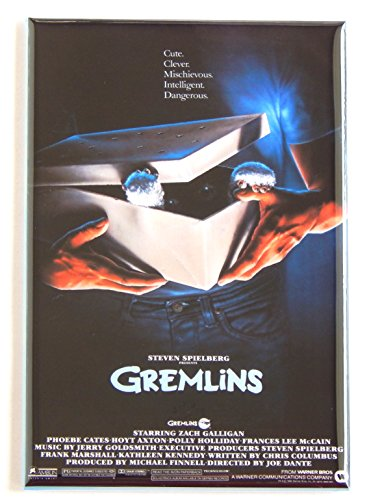 Gremlins Movie Poster Fridge Magnet (2 x 3 inches) -