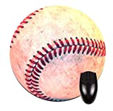 Baseball-Round Mousepad-Great Office Accessory! Review and Comparison