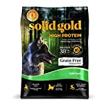 Solid Gold High Protein Dry Dog Food; Grain-Free With Real Duck; 22 Lb