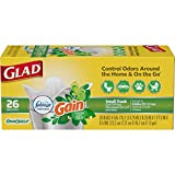 Best Glad Grocery Bags - Glad Odorshield Quick-Tie Small Original Trash Bags, 156 Review