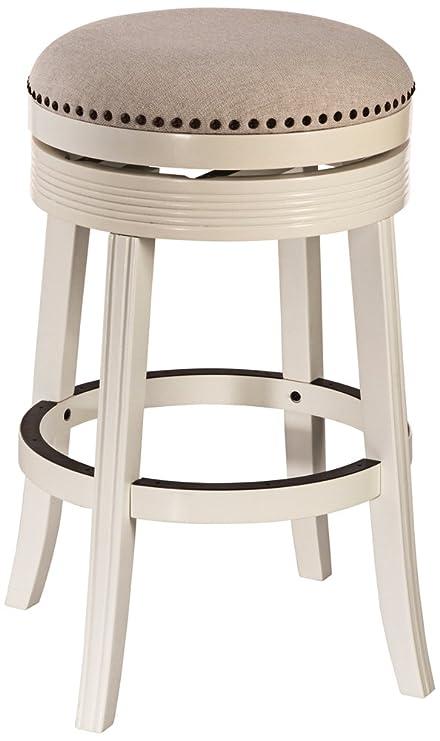 Amazon Com Hillsdale Furniture Tillman Backless Swivel Bar Stool