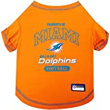 Pets First Miami Dolphins T-Shirt, Medium