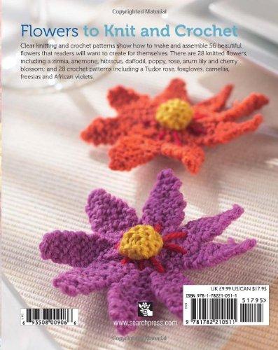 Flowers To Knit Crochet Susie Johns Jan Ollis 0693508009066