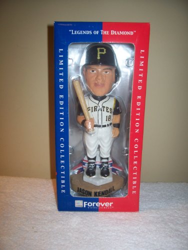 Jason Kendall Pittsburgh Pirates Forever Collectible Bobbing - Head Bobble Bean