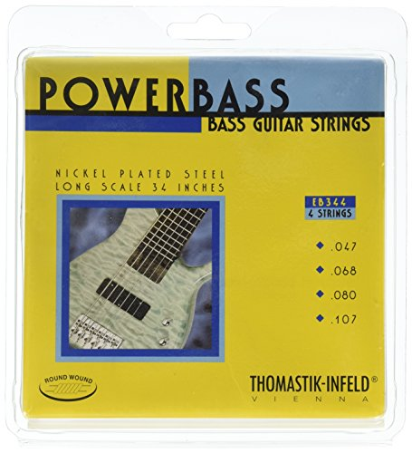 Thomastik-Infeld EB344 Bass Guitar Strings: Power Bass 4 String Magnecore Set G, -
