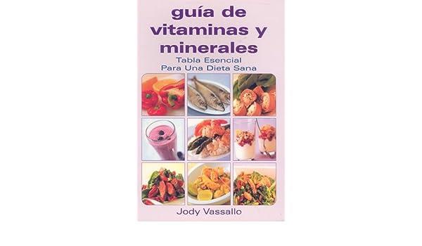 Guia de Vitaminas y Minerales Coleccion Guias Esenciales: Amazon.es: Jody Vasallo, Lorena Hidalgo: Libros