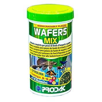 prodac Wafers Mix Alimento para Peces de Fondo y Gambas De Acuario 250ml 135gr: Amazon.es: Productos para mascotas