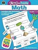 Cut & Paste Math: Grades 1-3 (Cut and Paste)