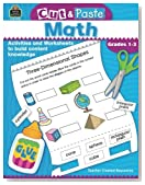 Cut & Paste Math: Grades 1-3 (Cut and Paste)